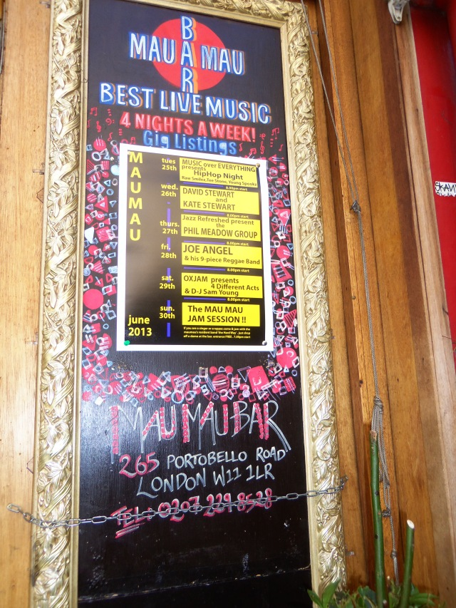 Bar Mau Mau...Live Music and Food