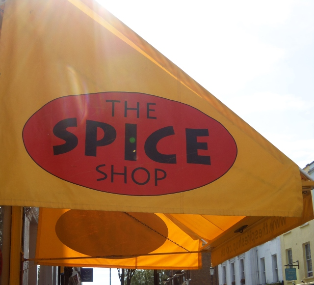 The Spice Shop, 1 Blenheim Crescent , W11 2EE~ Any and every spice you can think of in this place!
