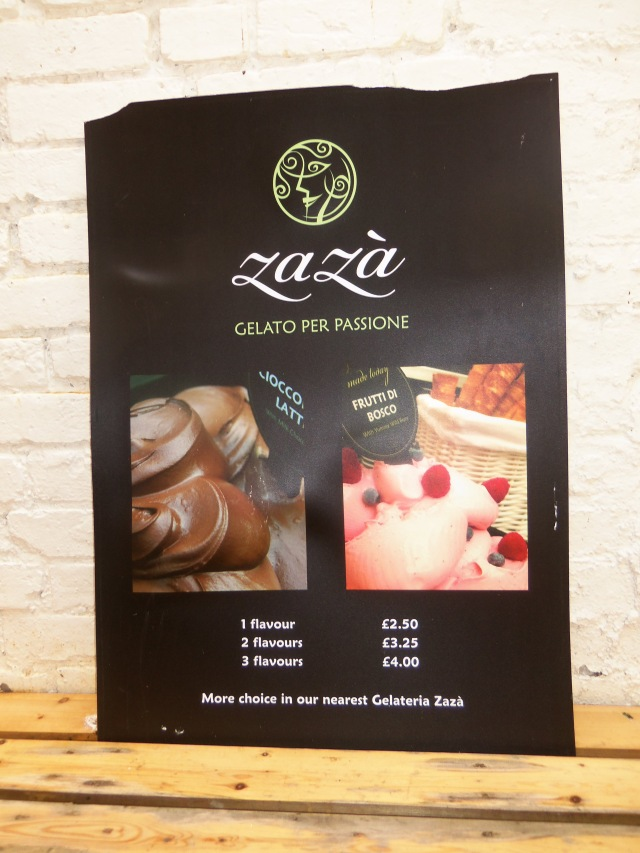 Za Zá Authentic Italian Gelato