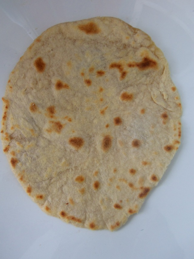 It's not perfectly round, but it's Roti nonetheless!