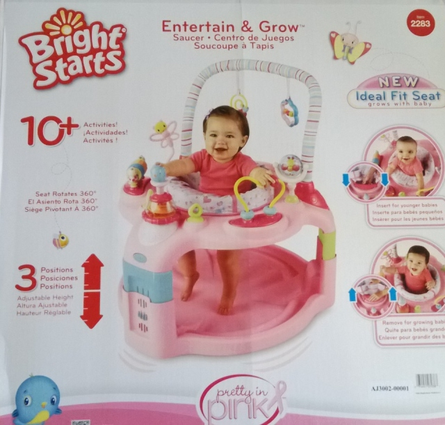 Bright Starts Entertain and Grow Saucer™ Pretty in Pink ™